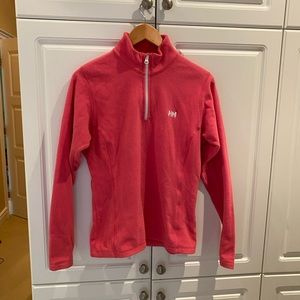 Helly Hansen Pink Fleece Top Size Large